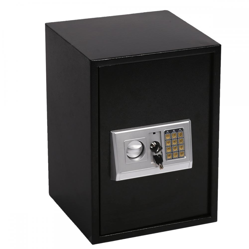 digital electronic safe box large security home office hotel gun keypad lock 50 ebay. Black Bedroom Furniture Sets. Home Design Ideas