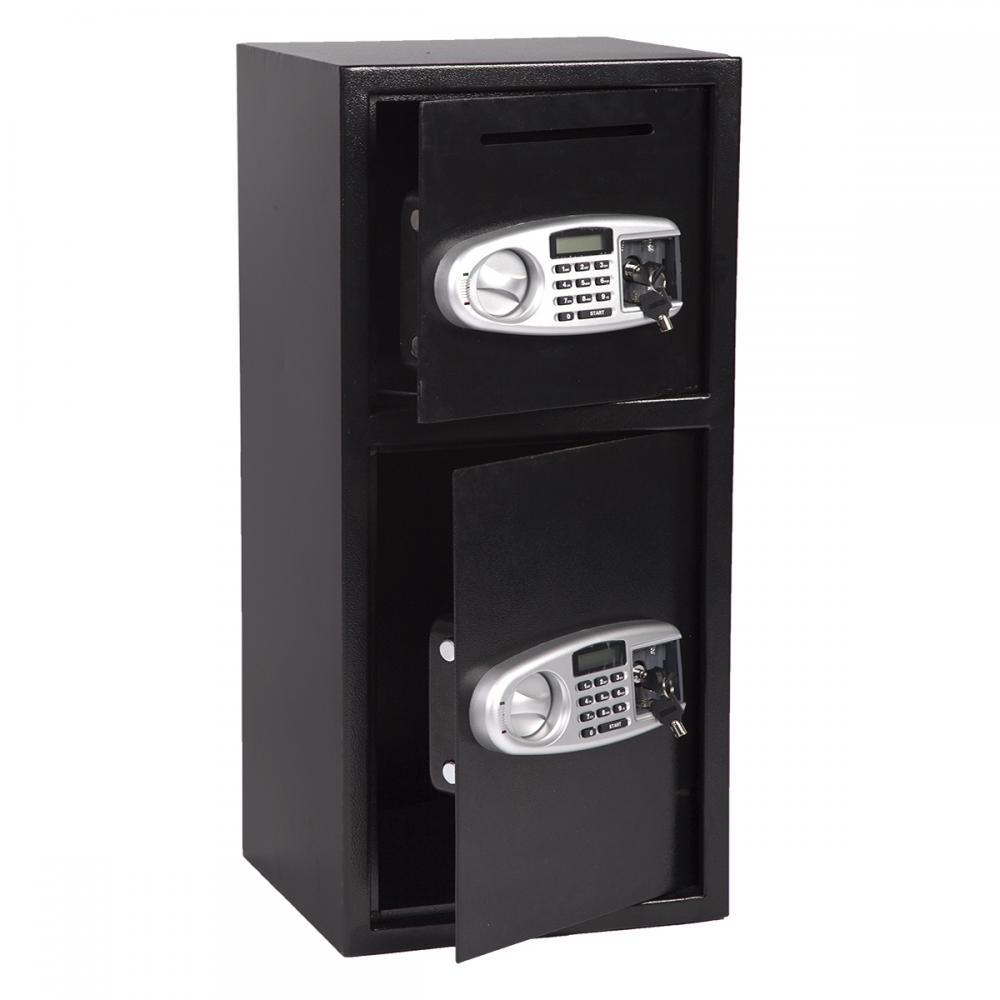 New Double Door Cash Office Security Lock Digital Safe