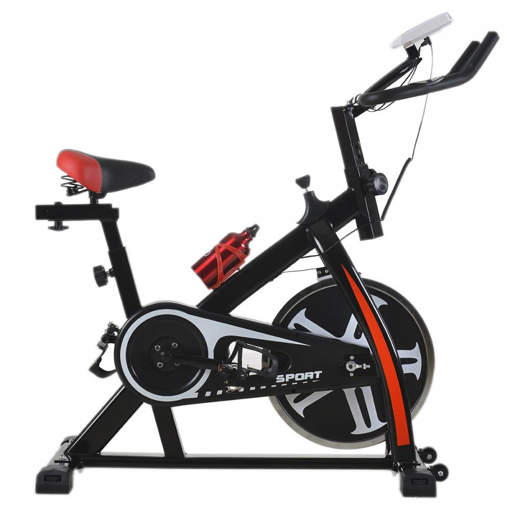 25fad9d8bc7 Black Bicycle Cycling Fitness Exercise Stationary Bike Cardio Home Indoor  508