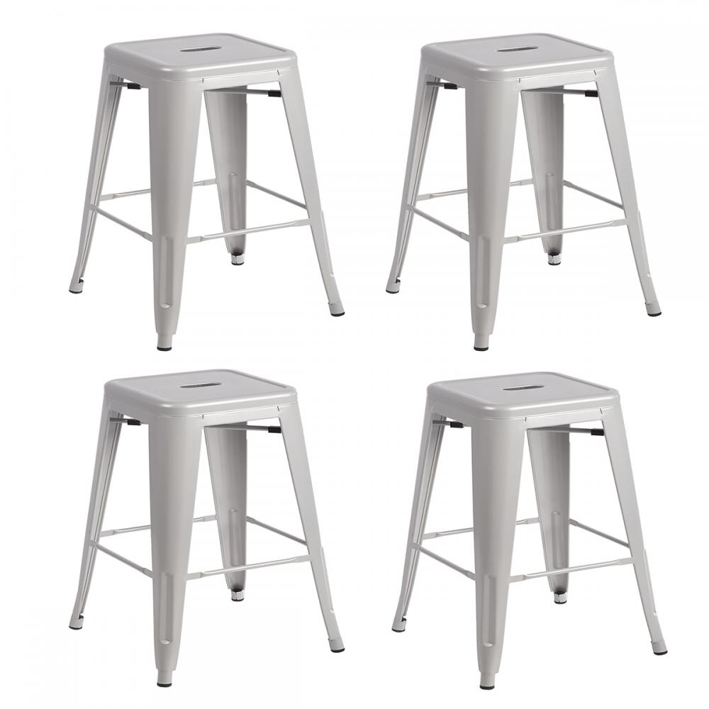 Metal Bar Stools Tolix Style Stool Bar Stool Industrial