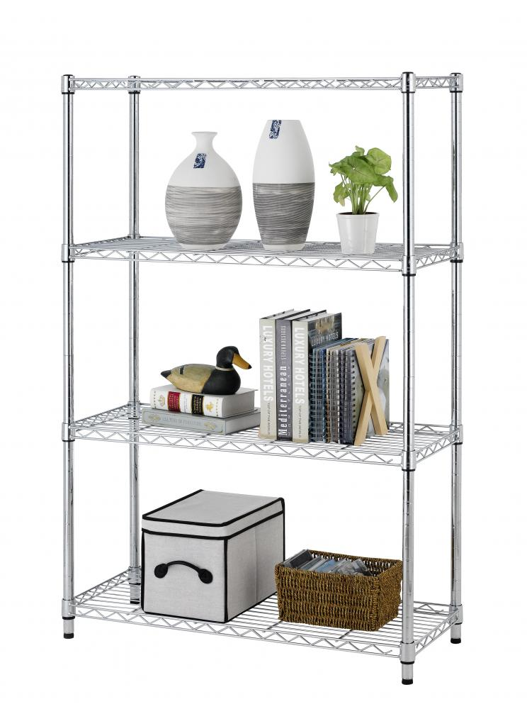 kitchen cabinet wire shelving 36 quot x14 quot x54 quot 4 tier layer shelf adjustable steel wire metal 5867