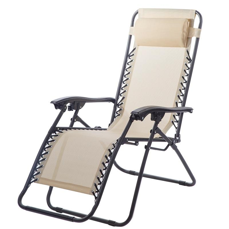 Zero Gravity Chair Lounge Recliner Outdoor Beach Patio