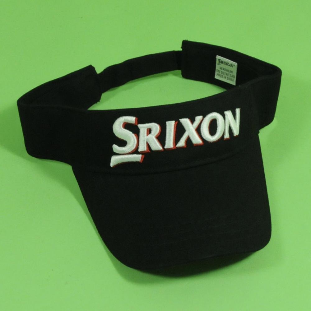 Genuine Srixon Golf Visor Black New  389222b0807