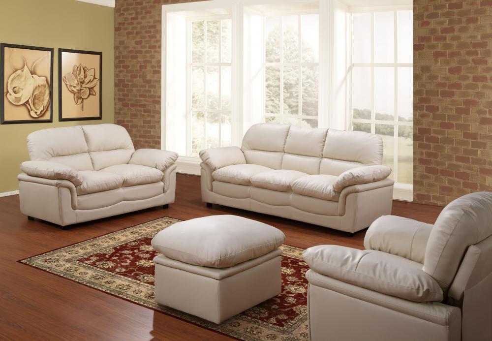 Verona Leather Sofas Suite 3 2 1 Stool 3 Colours Sofa Set