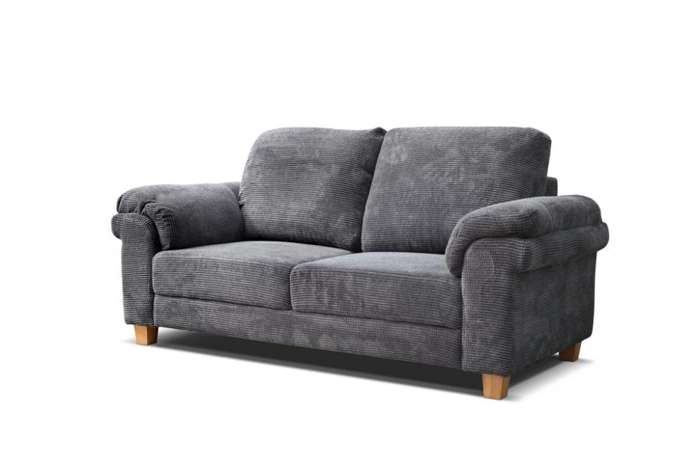 Sale New Oxford Grey Fabric Sofa Settee Suite Couch Sofas