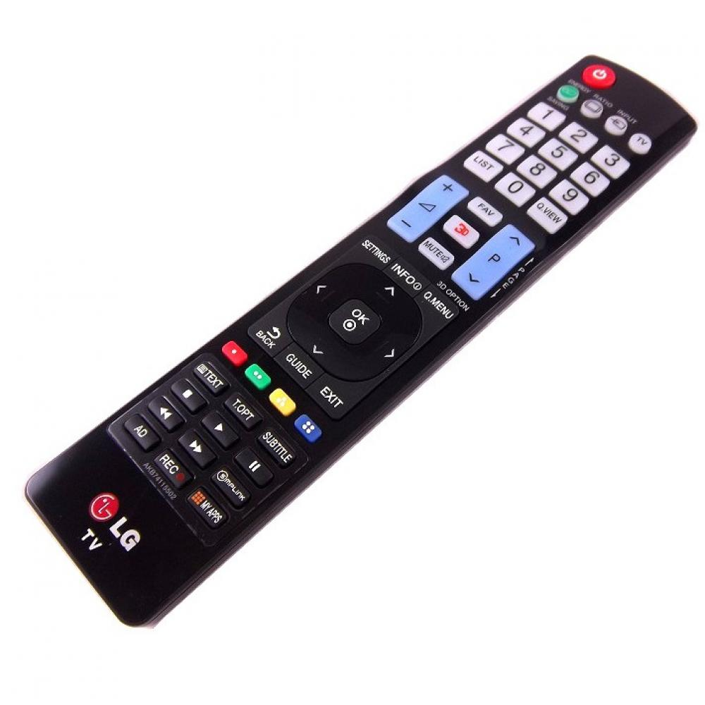 new genuine lg tv remote control akb74115502 replacement for akb73756502 ebay. Black Bedroom Furniture Sets. Home Design Ideas