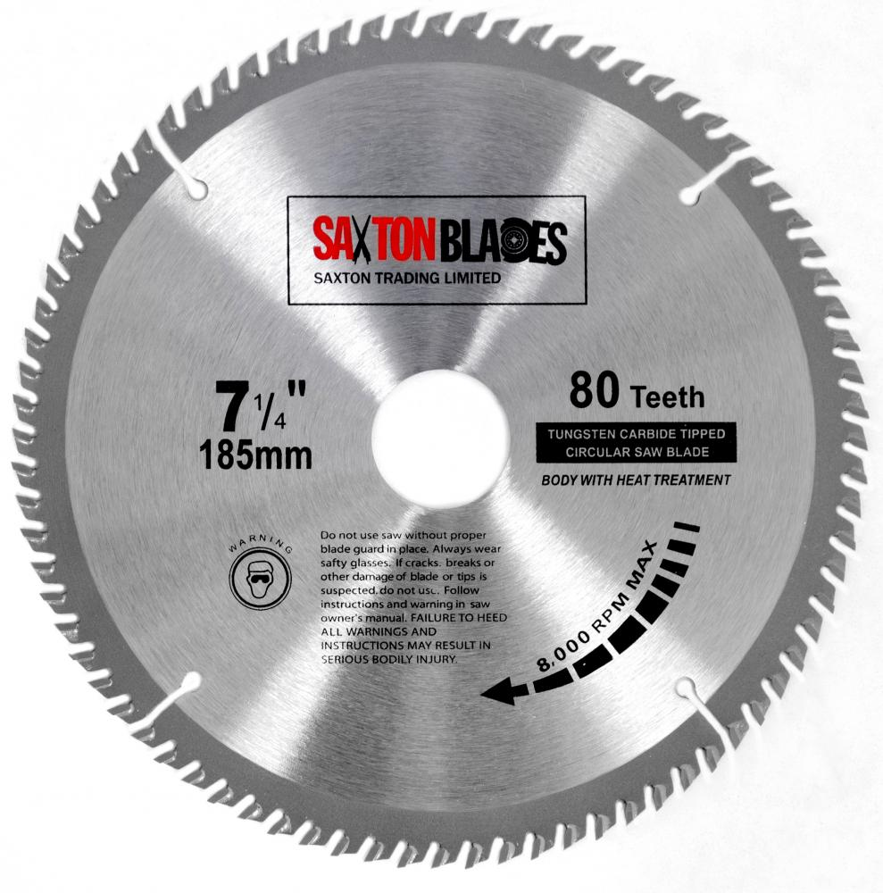 Saxton tct circular saw blade 185mm x 80t bosch makita dewalt fits saxton tct circular saw blade 185mm x 80t bosch makita dewalt fits 190mm saws keyboard keysfo Image collections