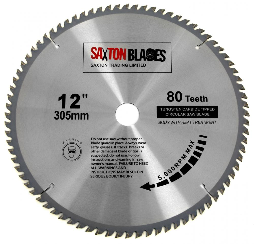 Saxton tct circular wood saw blade 305mm x 80t bosch makita dewalt saxton tct circular wood saw blade 305mm x 80t bosch makita dewalt mitre keyboard keysfo Image collections