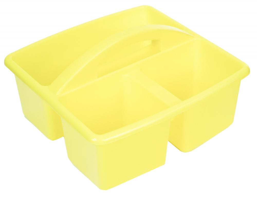 plastic 3 compartment handy kitchen cleaning diy tool utility caddy
