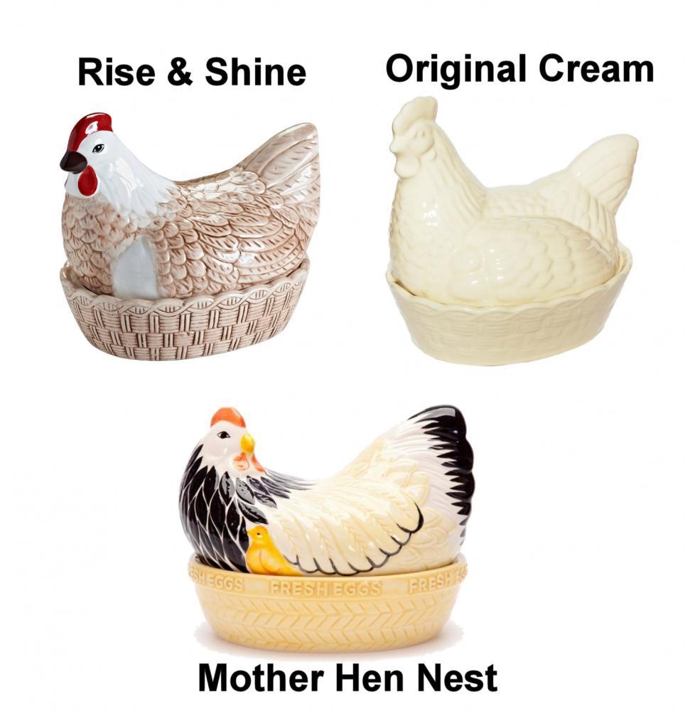 Mason Amp Cash Ceramic Mother Hen Chicken Egg Storage Nest