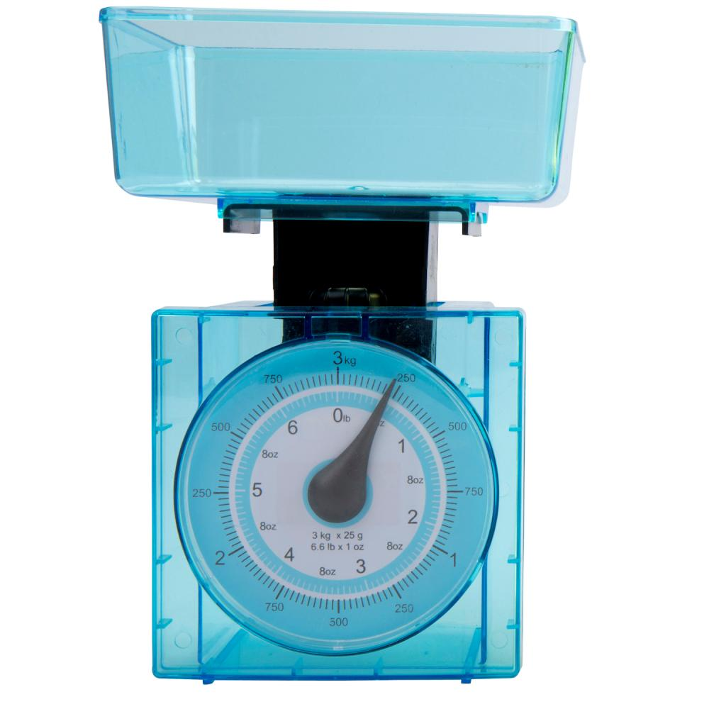 Couisine Elegance Plastic 3Kg Mechanical Kitchen Weighing Scales ...