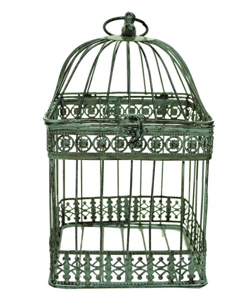 Bird Top Design Square Bird Cage Wedding Center Pieces