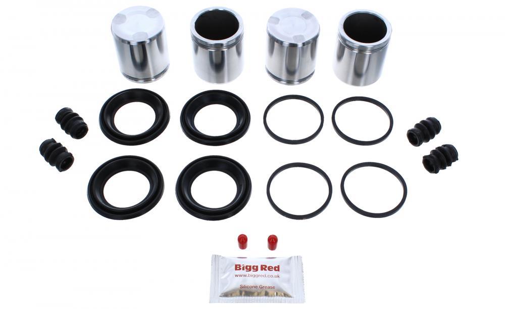 Pistons BRKP332 for RANGE ROVER 2012-18 FRONT L /& R Brake Caliper Repair Kit
