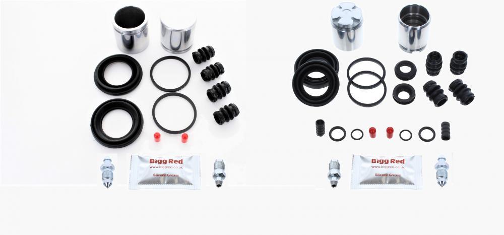 Pour BMW X3 E83 2004-2011 avant /& Arrière Étrier de Frein Complet Kit Réparation