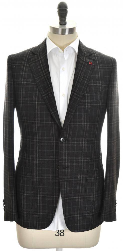 ac34a68cb71 Isaia Sport Coat Jacket  Cortina  2B Wool Blend Size 40 Brown 06SC0138  3490