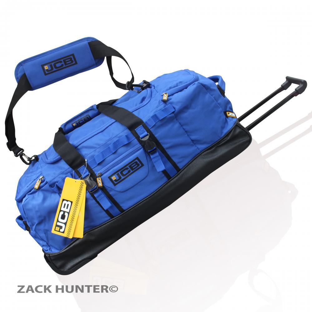New Jcb Extra Large Holdall Wheeled Travel Bag Luggage Bag Duffle