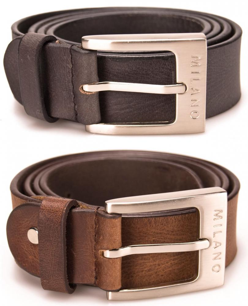 "MENS 1.5/"" REAL LEATHER BELTS MADE IN ENGLAND EMBOSSED DESIGN BLACK BROWN 26-55/"""