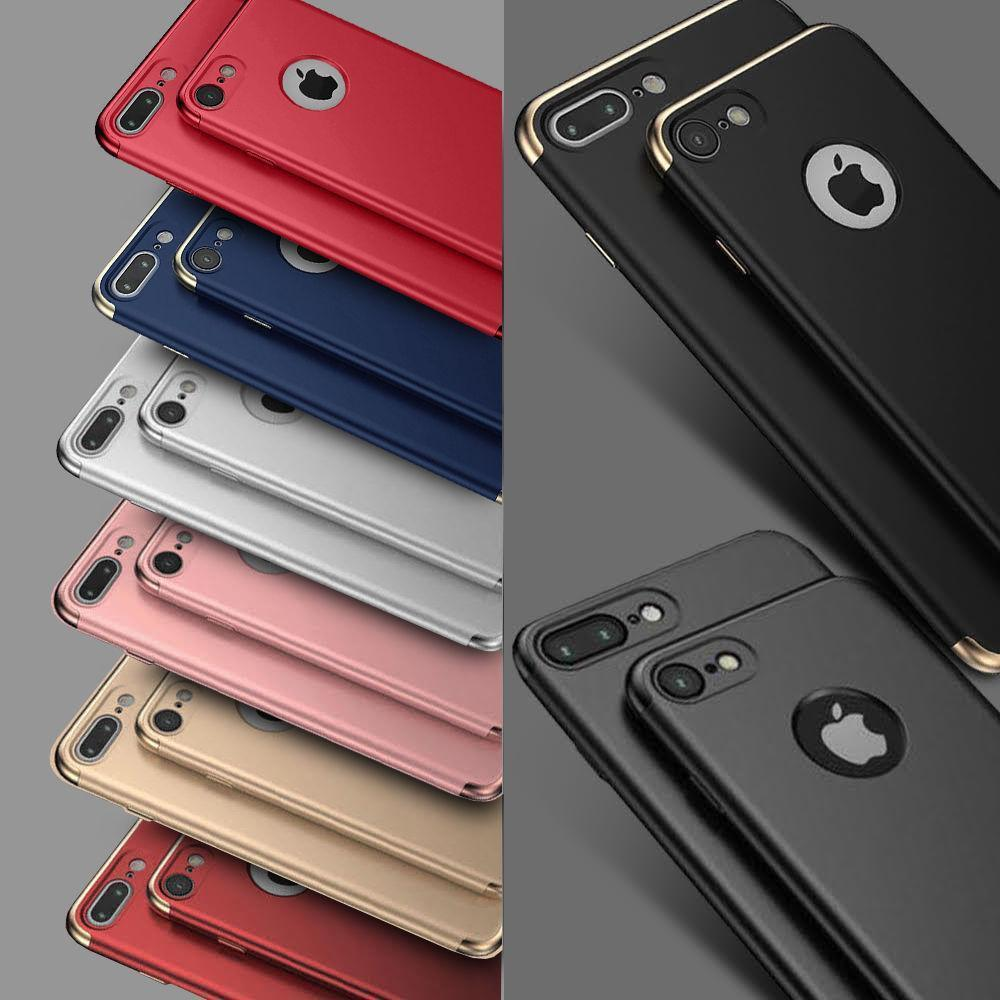 low priced bfb1c 2c5d1 Details about Shockproof Luxury Ultra thin Hybrid 360 Case for Apple iPhone  XS Max 8 7 6S X XR