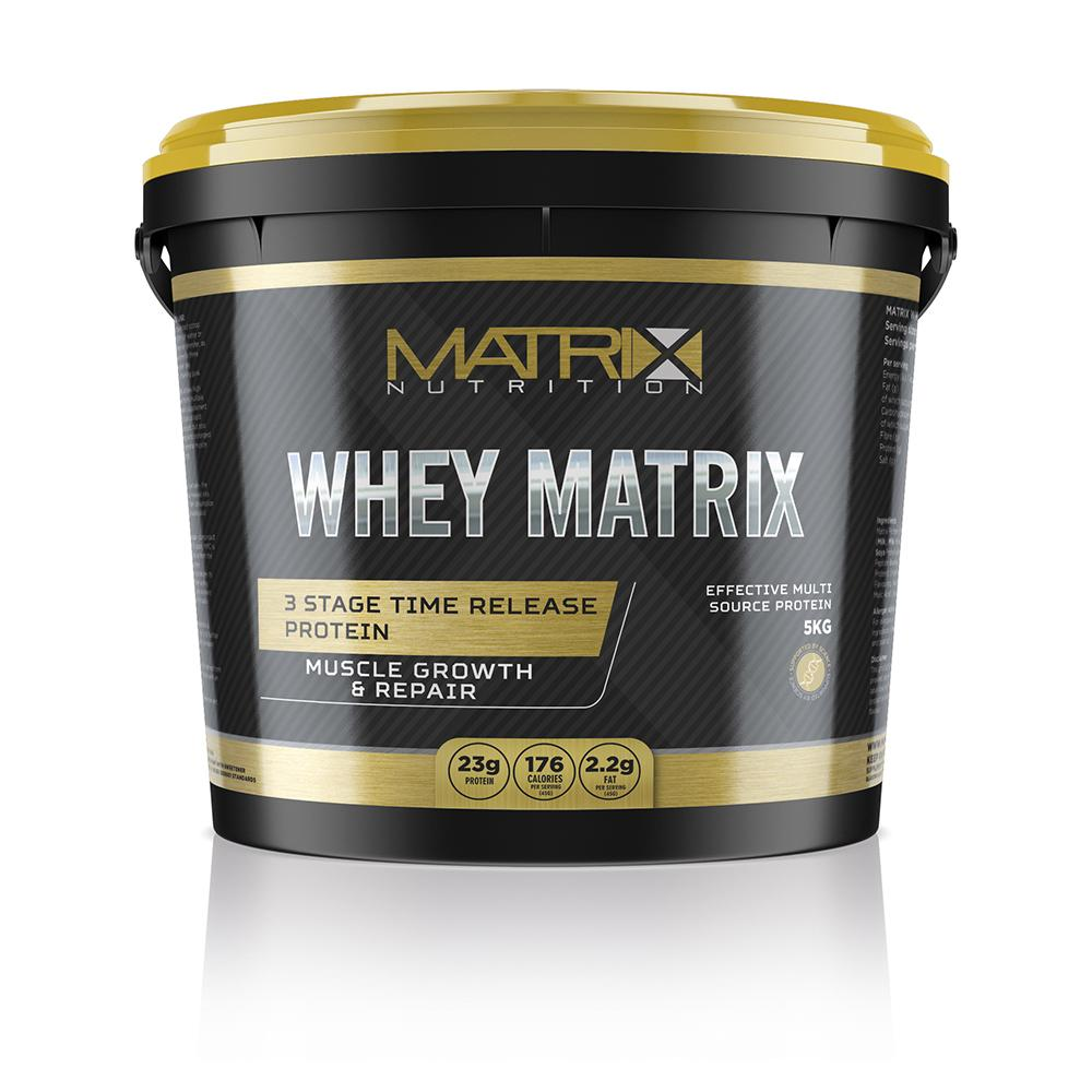 Whey protein powder for muscle growth