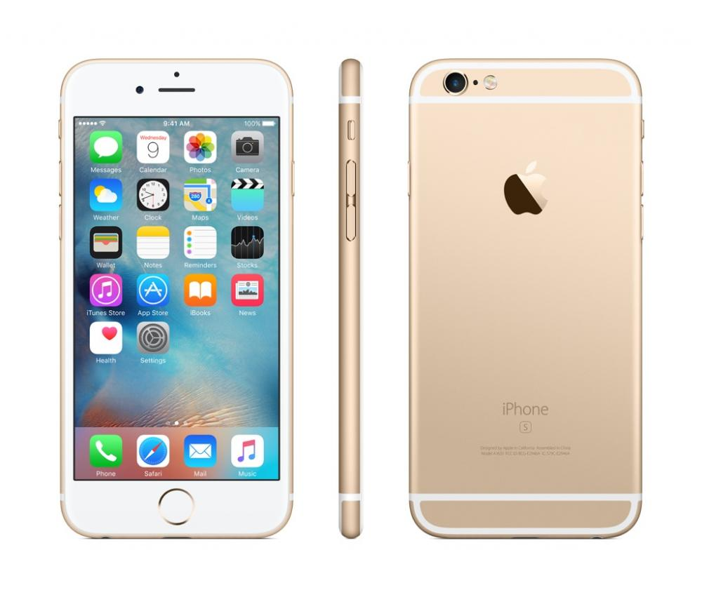 Apple iPhone 6s Gold 16GB - Pre-Owned - Boost Mobile ...