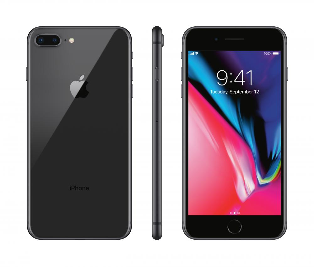 apple iphone 8 plus 64gb space gray sprint or boost. Black Bedroom Furniture Sets. Home Design Ideas
