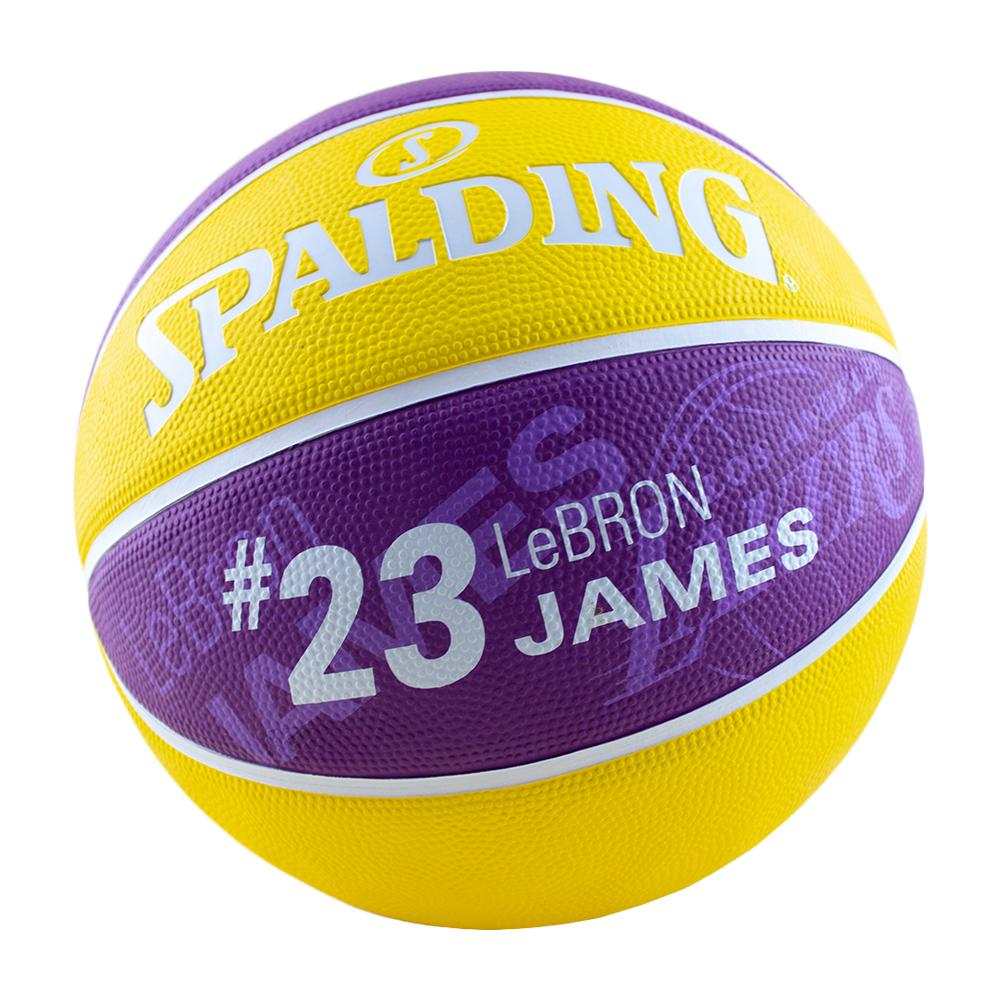 020812d29d6f6 NBA Player Series - LeBron James Basketball Size 7 Outdoor Ball from  Spalding