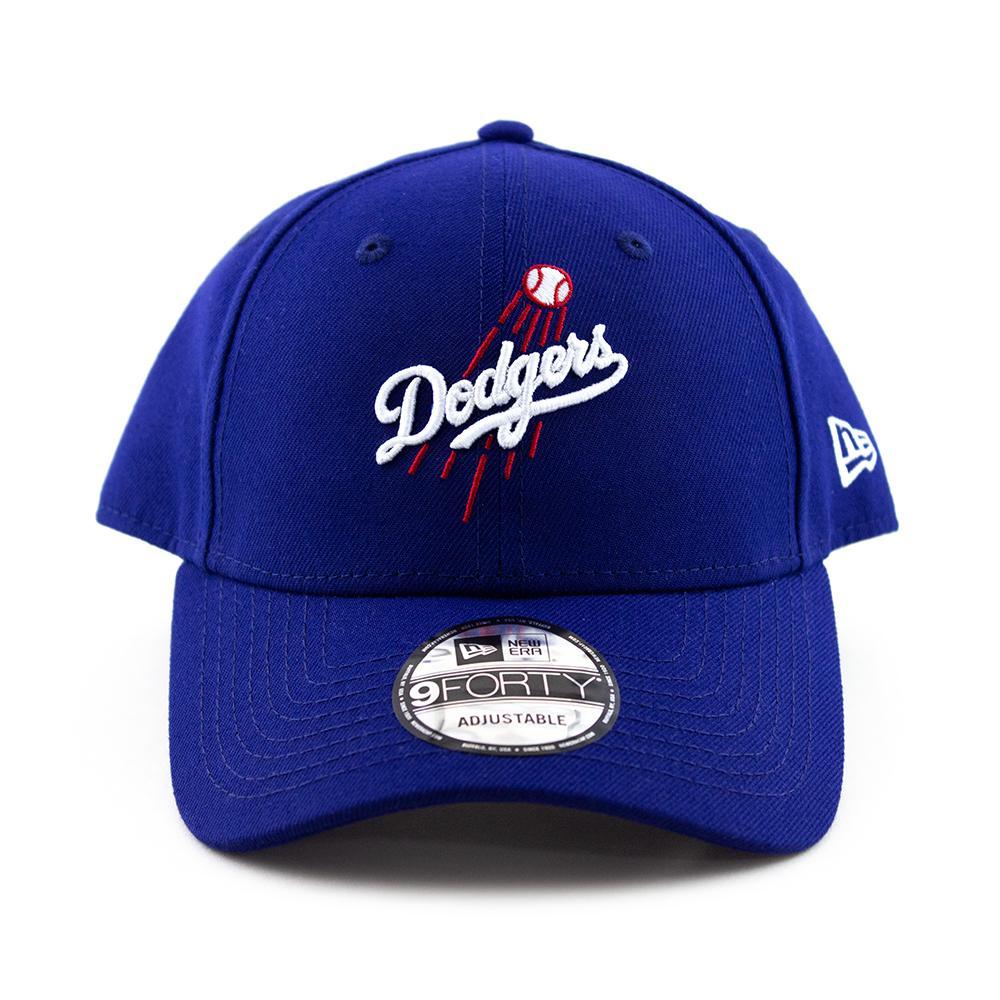 0e60f632ff1ef Los Angeles Dodgers New Era Cap MLB 9Forty Curved Brim Hat in Royal Blue