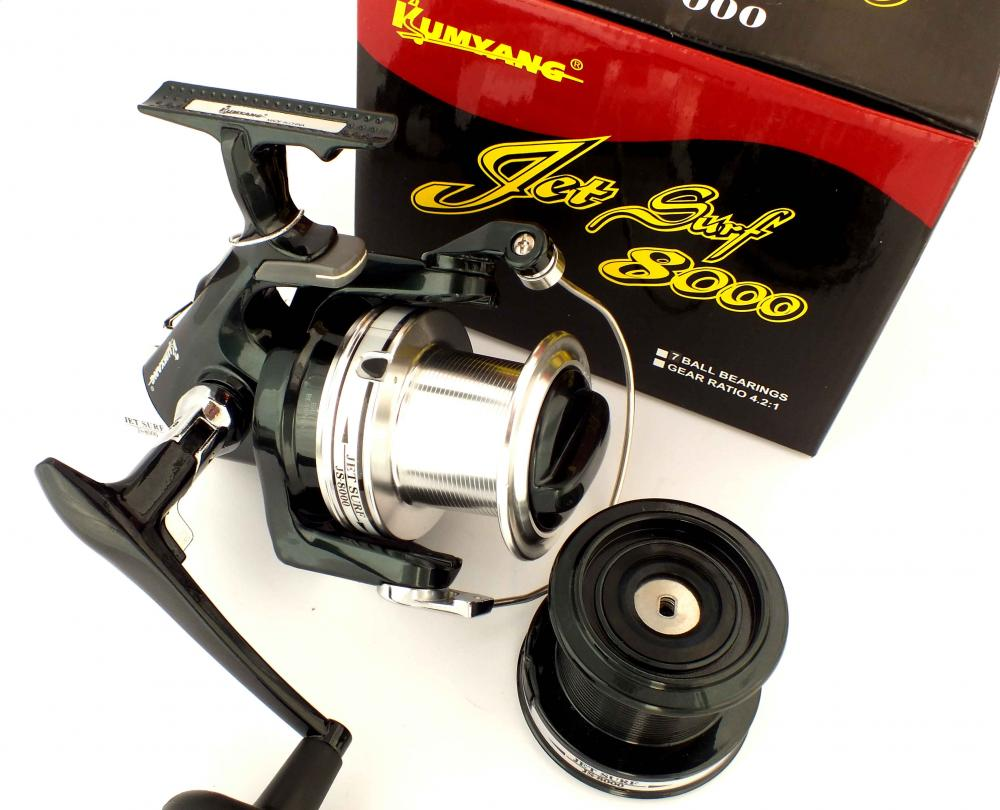 Kumyang Jetsurf 8000 Heavy Duty Spinning Fishing Reel
