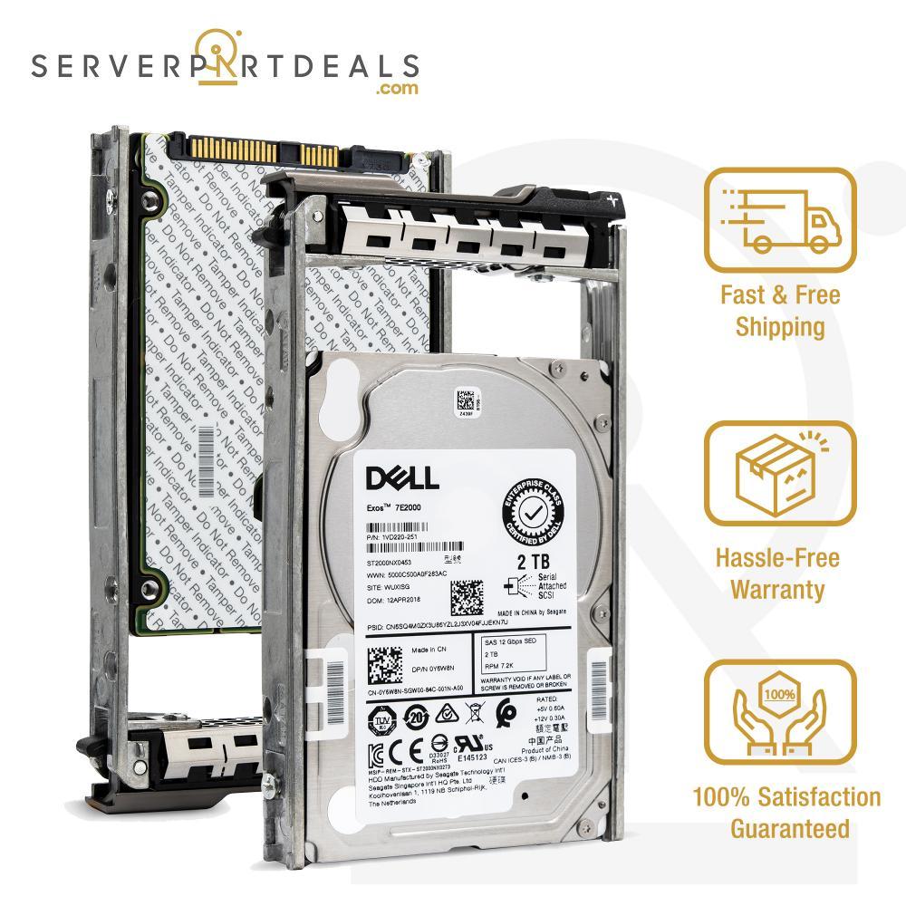 "ST2000NM0045 Seagate Enterprise 2TB 7.2K 3.5/"" 12Gbps SAS 1V4204 Hard Drive NEW"