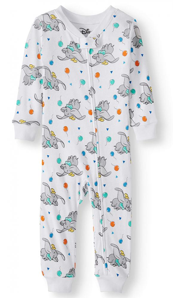 Disney Infant Boys Boys Dumbo Footless Coverall Size 12M 18M 24M $24
