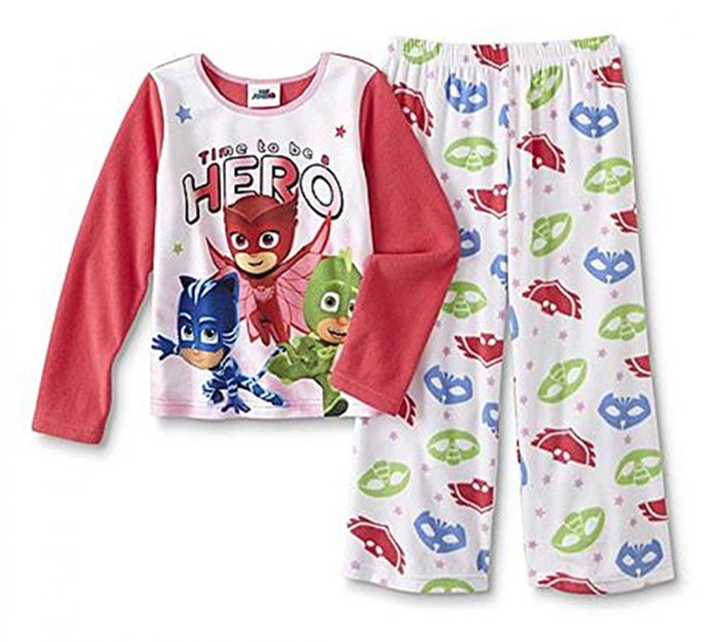 2280685b42ea PJ Masks Toddler Girls Micro Fleece 2pc Pajama Pant Set Size 2T 3T ...