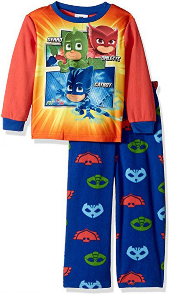 593ef8e3d1f7 PJ Masks Toddler Boys L S Top 2pc Pajama Pant Set Size 2T 3T 4T