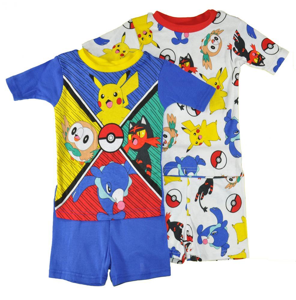 Pokemon Little//Big Boys Pika Burst 2pc Pajama Pant Set Size 4 6 8 10 $38