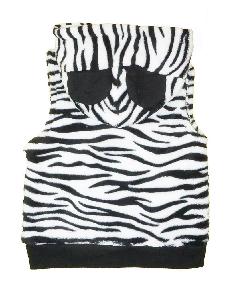 Minnie Mouse Girls Fluffy Zebra Vest 3pc Legging Set Size 2T 3T 4T 4 5 6 6X