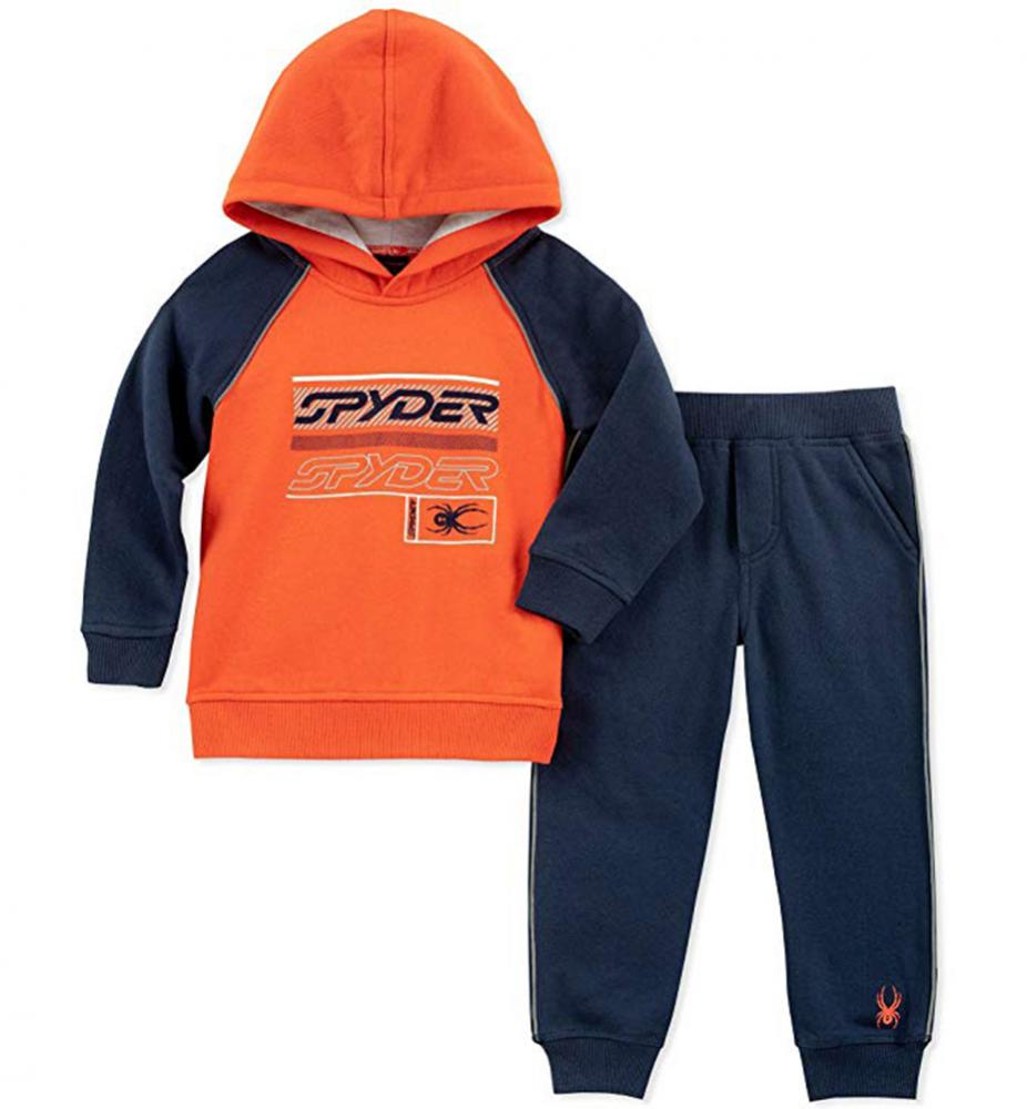 Spyder Infant Boys Red /& Gray 2pc Fleece Sweatsuit Size 12M 18M 24M $50