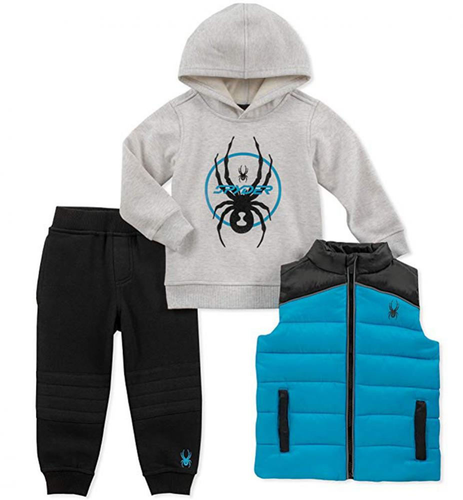 Spider-Man Boys Blue Pull-Over Hoodie 2pc Jogger Set Size 2T 3T 4T 4 5 6 7