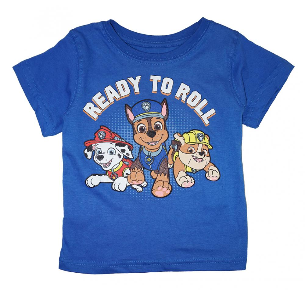 Paw Patrol Toddler Boys Blue /& Gray 2pc Tops Size 2T 3T 4T
