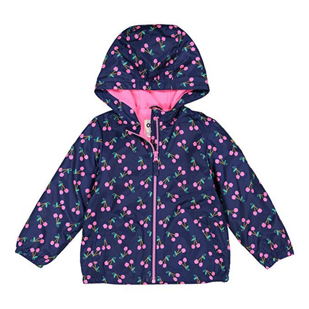 Osh Kosh B/'gosh Toddler Girls Rainbow Fleece Lined Jacket Size 2T 3T 4T