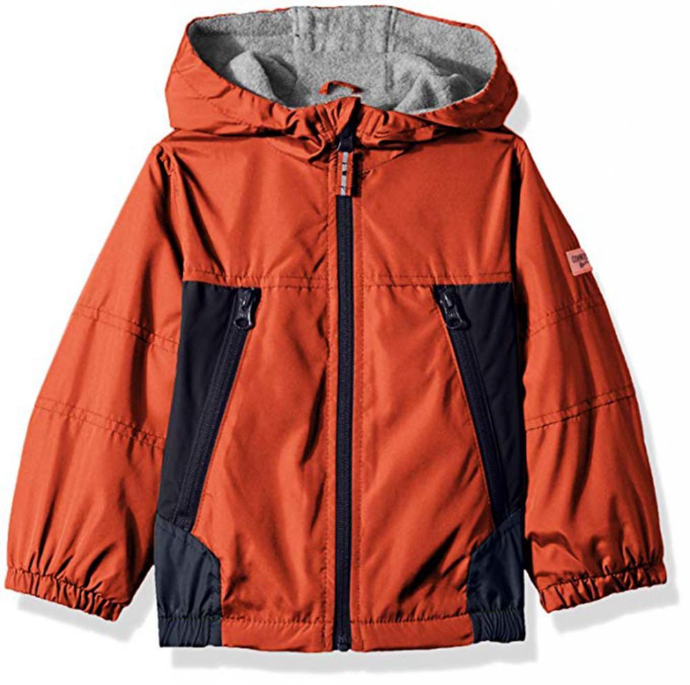Osh Kosh B/'gosh Boys Red /& Navy Fleece Lined Jacket Size 4 5//6 7
