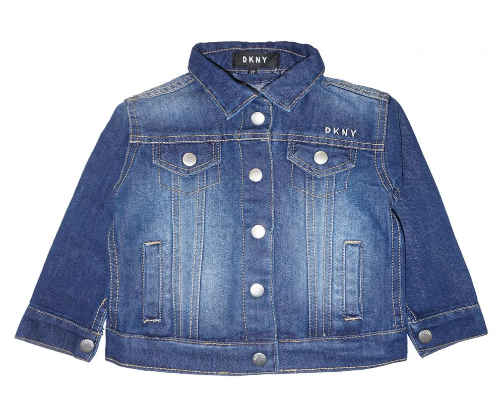 DKNY Girls Denim Jacket 3pc Legging Set Size 2T 3T 4T 4 5 6 6X $72