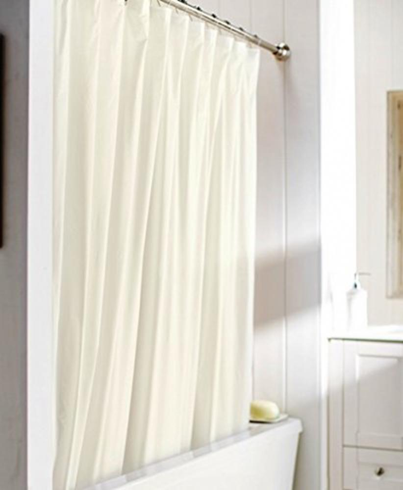 United Linens 10 Gauge HEAVY DUTY Shower Curtain Liner Size 70 X 72