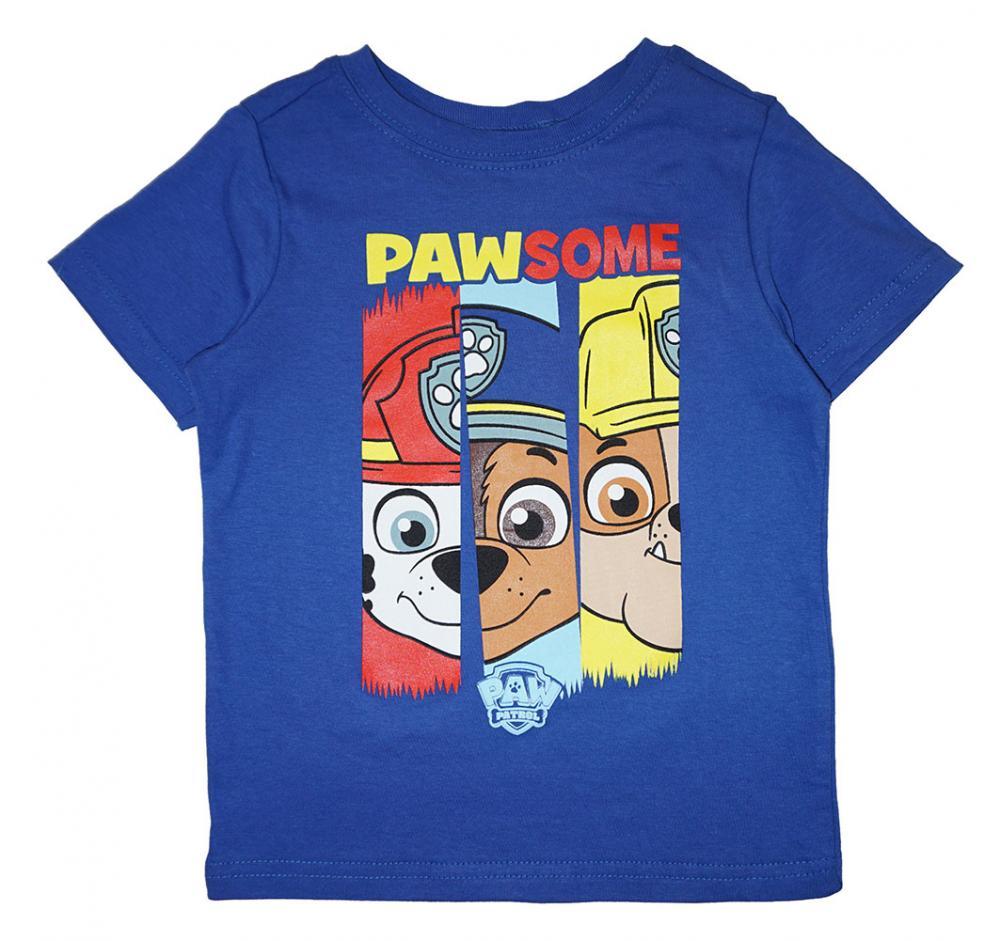 Paw Patrol Boys Red /& Multi 3pc Short Set Size 2T 3T 4T 4 5 6 7