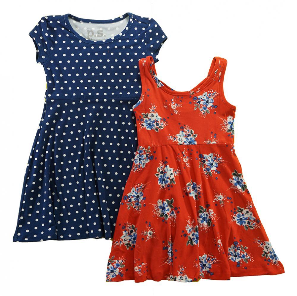 Sophie Fae Toddler//Little Girls Multi-Color Floral Dress 2T 3T 4T 4 5 6 6X