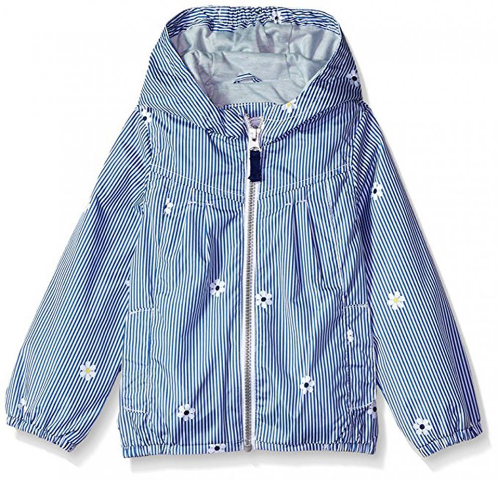 691a1278ea5f Carter s Girls Blue Striped Jersey Lined Jacket Size 2T 3T 4T 4 5 6 ...