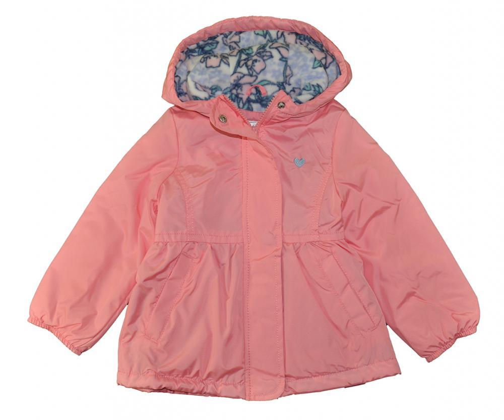 6f94f928879c Carter s Toddler Girls Pink Midweight Fleece Lined Windbreaker Size ...