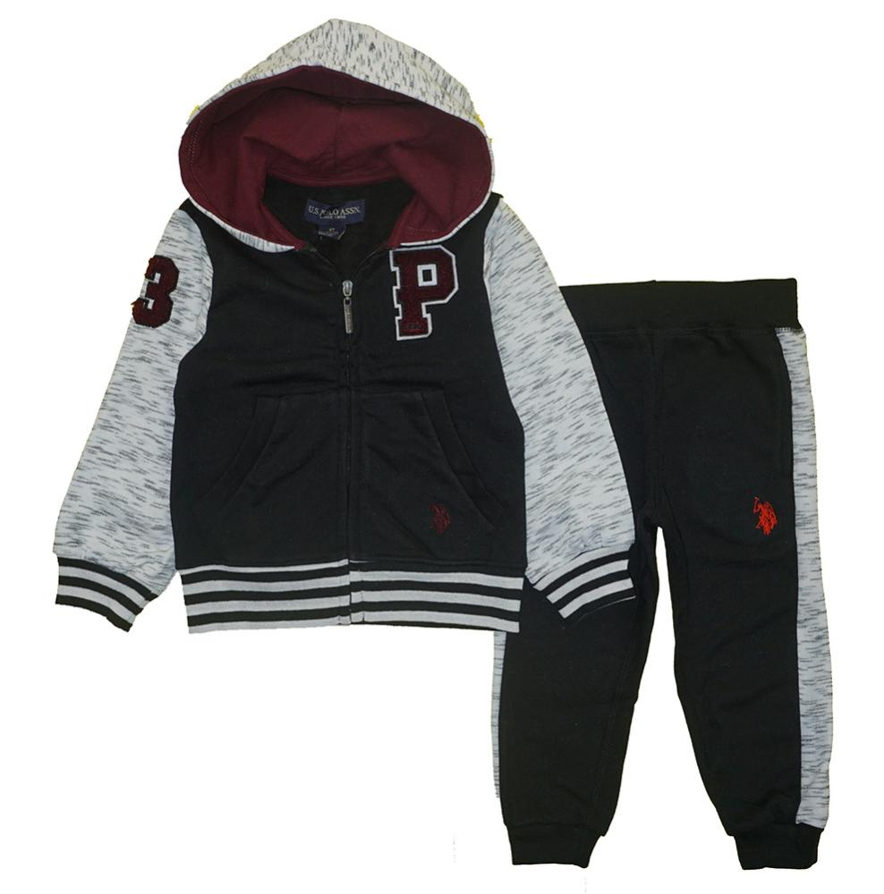 RBX Toddler Boys Black /& Red Top 2pc Pant Set Size 2T 3T 4T $28