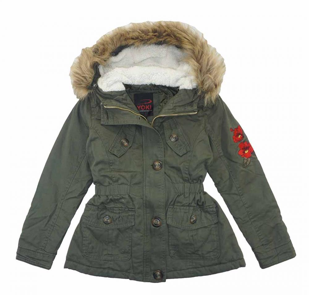 Jessica Simpson Girls White//Black Colorblock Coat Size 4 5//6 6X 7//8 10//12 14//16