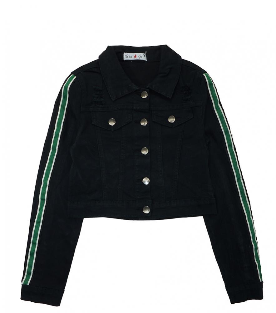 Yoki Big Girls Black Faux Wool Double Breasted Coat Size 7 8//10 12//14 16 $79
