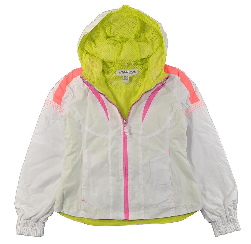 Girls F.O.G /& London Fog Assorted Hooded Puffer Jackets Sizes 10//12 /& 14//16