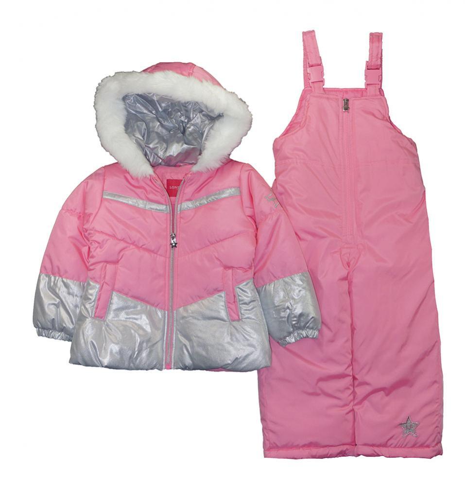 London Fog Girls Periwinkle 2pc Snowsuit Size 2T 3T 4T 4 5//6 6X